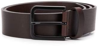 Emporio Armani embossed logo belt