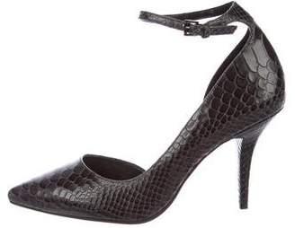 Michael Kors Leather Ankle Strap Pumps