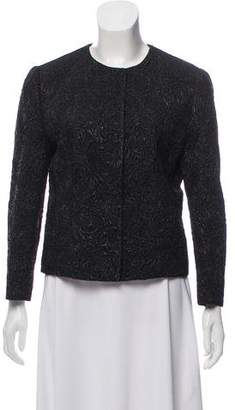Dolce & Gabbana Wool-Blend Brocade Jacket w/ Tags