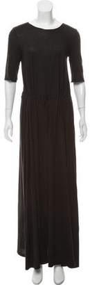 Raquel Allegra Drawstring Maxi Dress