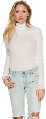 Free People Modern Cuff Layering Tee $40 thestylecure.com