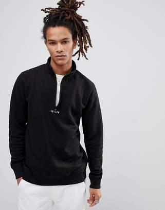 Volcom Half Zip Sweatshirt With Logo