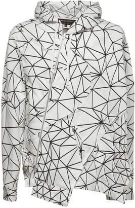 Comme des Garcons Homme Geometric Print Jacket