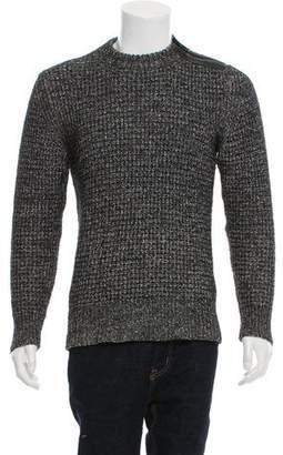 Belstaff Woven Crew Neck Sweater
