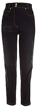 Versace Women's High-Rise Straight-Leg Jeans