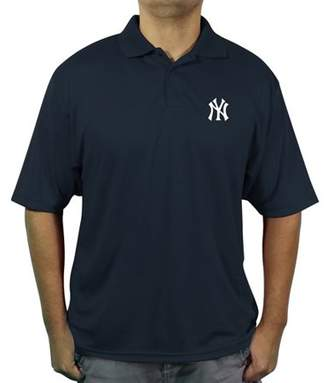 MLB NY Yankees Men's poly polo shirt