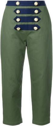 Manoush cropped sailor trousers