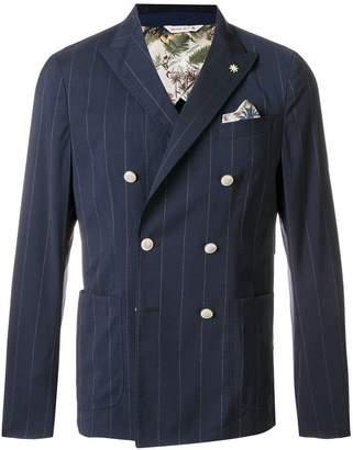 Manuel Ritz classic double-breasted blazer