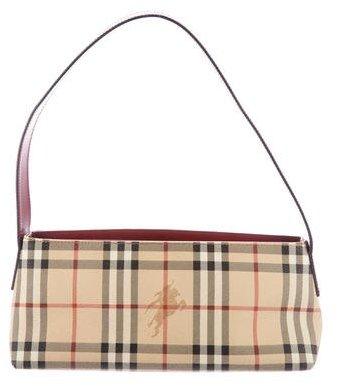 Burberry Burberry London Haymarket Check Shoulder Bag