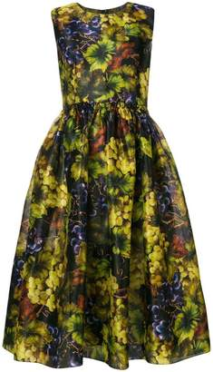 Dolce & Gabbana grapes print dress
