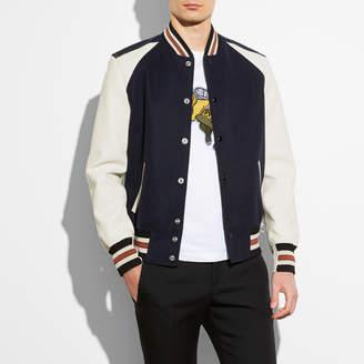 COACH Coach Varsity Jacket $795 thestylecure.com