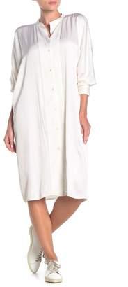 James Perse Dolman Sleeve Shirt Dress