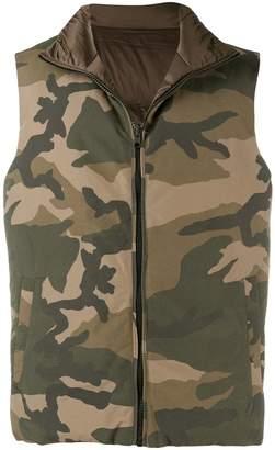 Woolrich camouflage vest
