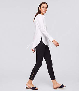 LOFT Leggings in Ankle Zip Bi-Stretch