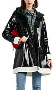 Raincoats Women's Mosebacke Colorblocked Cotton-Blend Raincoat