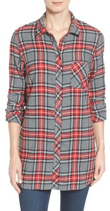 Women's Kut From The Kloth Collin Plaid Flannel Shirt $88 thestylecure.com