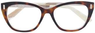 Calvin Klein Jeans tortoiseshell glasses frame