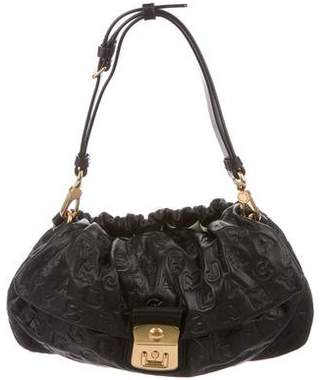 Marc by Marc Jacobs Logo-Embossed Shoulder Bag