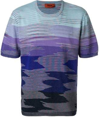 Missoni shaded striped T-shirt