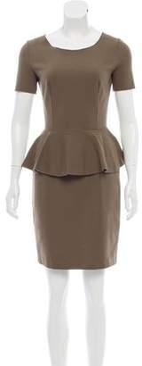 Stella McCartney Overlay-Accented Mini Dress