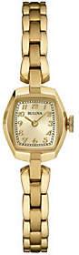 Bulova Champagne Dial Bracelet Women's Watch $250 thestylecure.com
