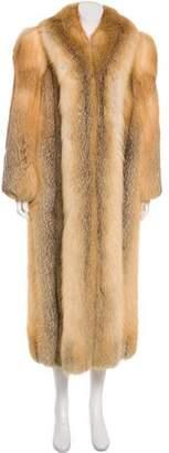 Galanos Fur Long Coat