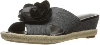 LifeStride Women's Omega Espadrille Wedge Sandal