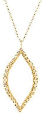 Jamie Wolf 18K Diamond Pendant Necklace