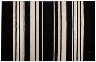 Astor Stripes Rug - Black 2'x3'
