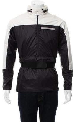 Balenciaga Half-Zip Windbreaker Jacket