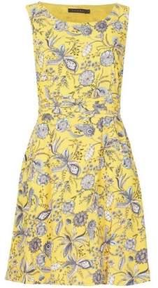 Dorothy Perkins Womens *Tenki Yellow Floral Tea Dress