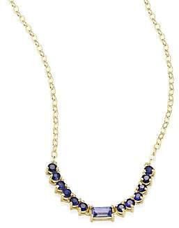 Ila Women's Noemi Blue Sapphire & 14K Yellow Gold Pendant Necklace