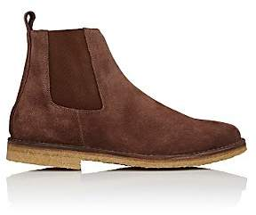 Barneys New York MEN'S CHELSEA BOOTS-BROWN SIZE 8 M