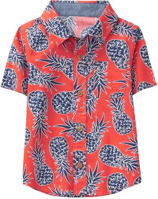 Crazy 8 Crazy8 Pineapple Shirt