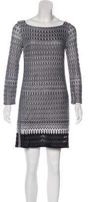 Missoni Striped Pointelle Dress