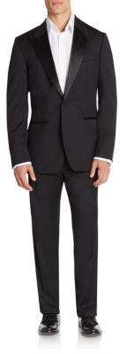 Hugo Boss Caiden/Glam Regular-Fit Virgin Wool Tuxedo