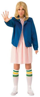 BuySeasons Women Stranger Things Eleven Blue Jacket Adult Costume