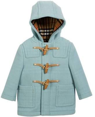 Burberry Brogan Virgin Wool Peacoat, Size 12M-3