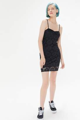 Urban Outfitters Ruby Lace Bodycon Mini Dress
