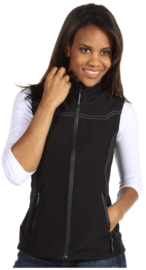 Roper Black Softshell Vest (Black) - Apparel