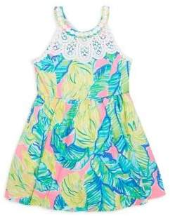 Lilly Pulitzer Toddler's, Little Girl's& Girl's Little Kinley Fit-&-Flare Dress