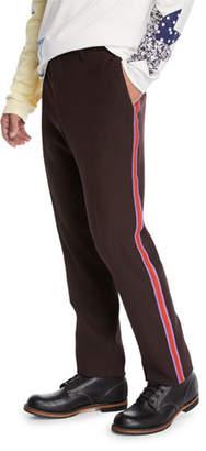 Calvin Klein Men's High-Twisted Gabardine Pants