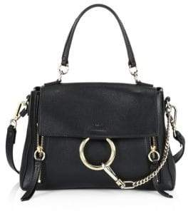 Chloé Faye Small Leather Shoulder Bag