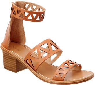 Soludos Laser-Cut Leather Sandal