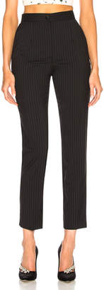Dolce & Gabbana Pinstripe Stretch Wool Trousers