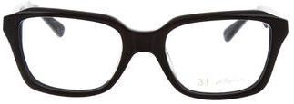 3.1 Phillip Lim3.1 Phillip Lim Logo-Embellished Square Eyeglasses