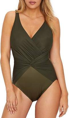 Miraclesuit Rock Solid Twister One-Piece