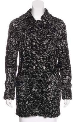 Chanel Wool-Blend Cardigan