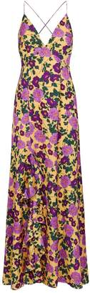 Keepsake The Label Infinity Ruffle Split Gown