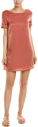Dee Elly Satin Shift Dress
